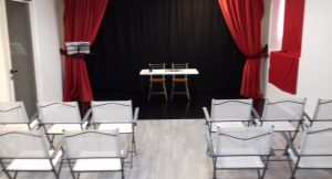 Aula grande della scuola di recitazione Borgo Teatrale di Milano